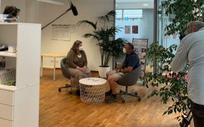 Videodreh mit der WDR Lokalzeit Köln